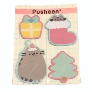 Pusheen Christmas Sticky Notes New